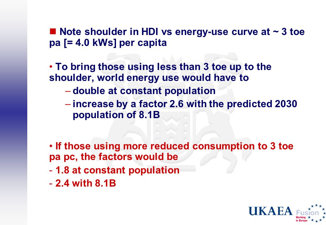 Note shoulder in HDI vs energy-use curve at ~ 3 toe pa [= 4